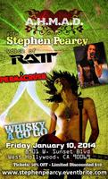 A.H.M.A.D. w/ PERMACRUSH & STEPHEN PEARCY the voice of RATT
