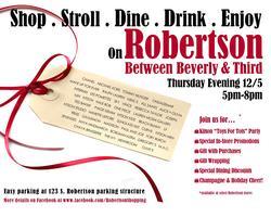 Robertson Holiday Stroll