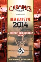 New Years Eve 2014 at Carmines NYC