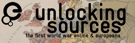 "Conference ""Unlocking Sources - The First World War..."