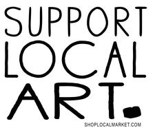 SHOP LOCAL MARKET logo