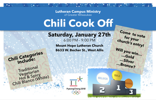 Lutheran Campus Ministry Chili Cook-Off