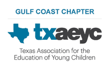 Gulf Coast Chapter of the Texas Association for the Education of Young Children (GCAEYC)  logo