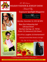 HOLIDAY FASHION & JEWELRY SHOW