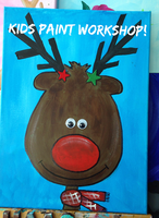 Kid's Christmas Paint Workshop-(10-12 Yrs)