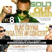 TYGA LIVE IN CONCERT @ LIMELIGHT SUNDAY HOSTED BY BLAC CHYNA!...