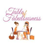 Table of Fabulousness - 'First Table' monthly home BR...