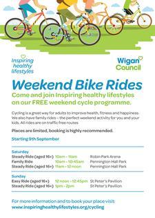 Active Outdoors (Weekend Bike Rides) logo