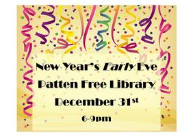 New Year's Early Eve at the Patten Free Library