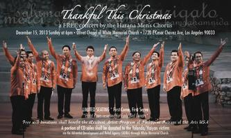 Thankful This Christmas: A Free Concert by the Harana Men's...