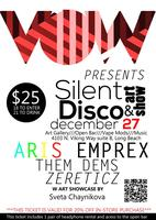 Art Exhibit & Silent Disco Vapor Party