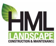 HML LANDSCAPE CONSTRUCTION logo