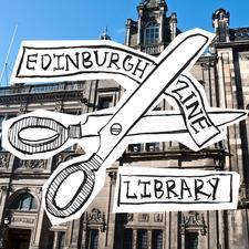 Edinburgh Zine Library logo