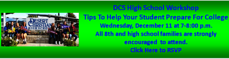 DCS High School Workshop Tips To Help Your Student Prep...