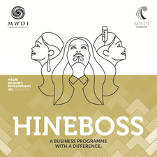 Māori Womens Development Inc & HineBoss logo