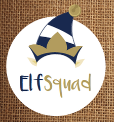 Elf Squad Community Christmas Project logo