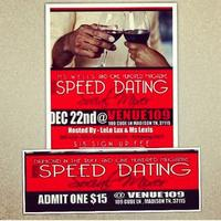 Diamond in the Ruff Inc. and OHM presents a Speed Dating/Social...