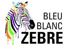 Bleu Blanc Zèbre  logo