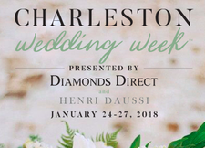 Charleston Wedding Week Presented by Diamonds Direct & Henri Daussi logo