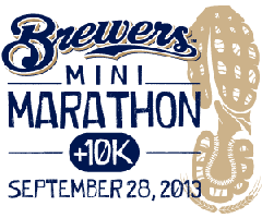 Brewers Mini Marathon and 10K with myTEAM TRIUMPH
