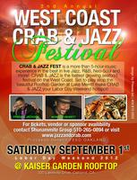 Crab & Jazz Festival Package