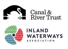 Canal & River Trust and Inland Waterways Association logo