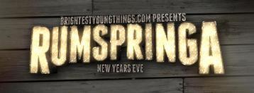 BYT Presents: Rumspringa - New Years Eve!