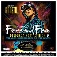 """Fierce and Fiery Designer Competition"" Bi-Annual"
