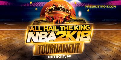 All Hail the king (NBA2k Tournament)