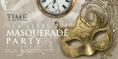 Time Masquerade New Years Eve Party