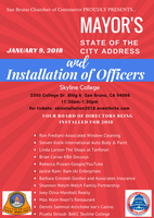 2018 State of the City Address and Installation of...