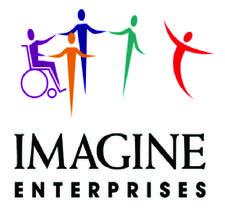 Imagine Enterprises & Dickinson ISD logo