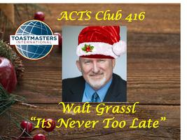 ACTS Club 416 Holiday Party - Walt Grassl Featured...