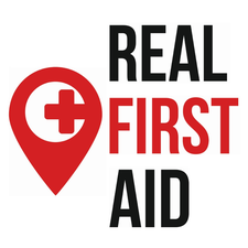 Real First Aid - Groupon Offer logo