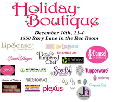 Holiday Shopping Christmas Boutique