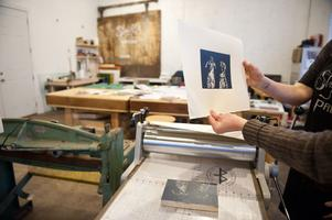 Introduction to Printmaking - Woodblock