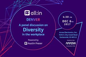 All:in Denver - A panel discussion on diversity in the...