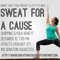 Sweat For A Cause w/ the Bright Light Yoga Project &...