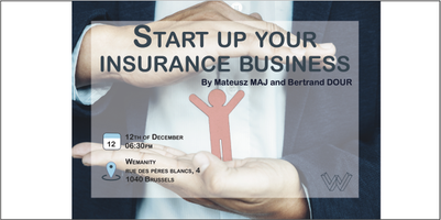 Start up your insurance business.