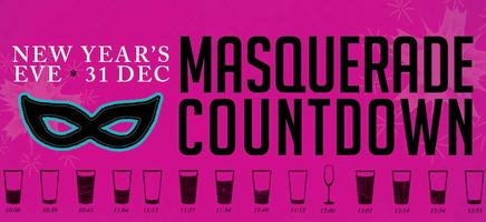 New Year's Eve Masquerade Countdown