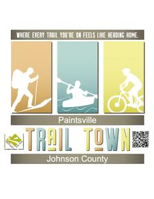 Paintsville/Johnson County Trail Town Team logo