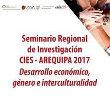 Seminario Regional de Investigación CIES - Arequipa 2017 logo
