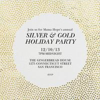 Mama Hope's Annual Silver & Gold Holiday Party!