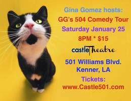GG's 504 Comedy Hour/Sat. Jan 25