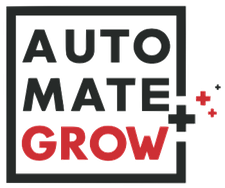 Automate and Grow by Michael Devellano logo