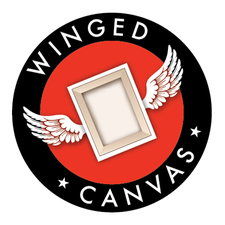 Winged Canvas Art Hub logo