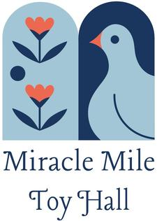 Miracle Mile Toy Hall logo