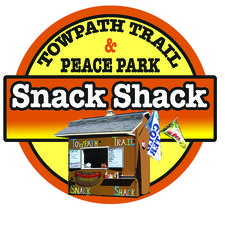 Towpath Trail Snack Shack & Peace Park logo