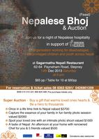 Nepalese Bhoj & Auction in support of SathSath
