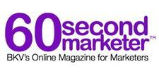 The 60 Second Marketer logo